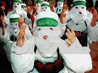 Suicide Bombers pose for photo-op