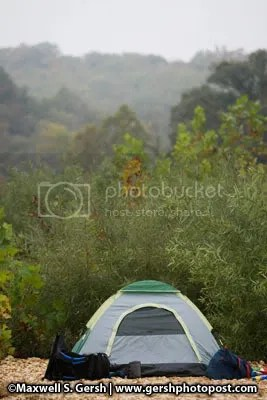 tent in the wild ©Maxwell S. Gersh