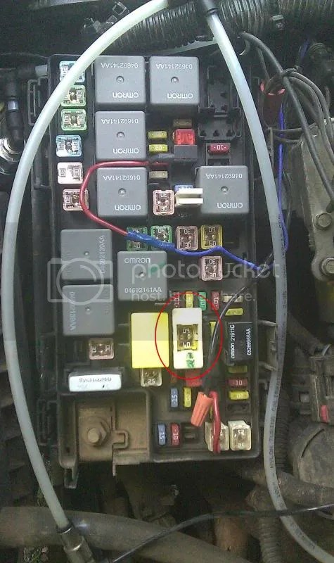 2007 Jeep Wrangler Horn Wiring Diagram No Fuse Error Message Resolved Jk Forum Com The