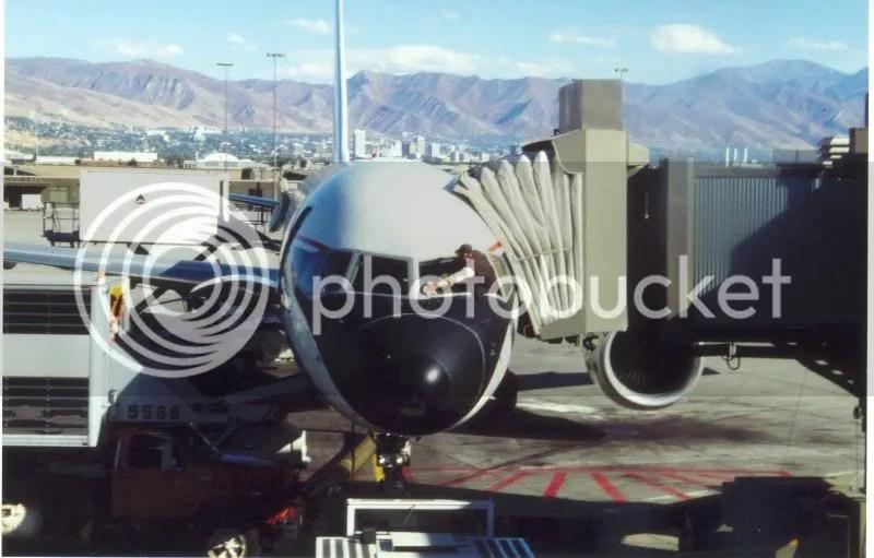 15.10.1990 - Flughafen Salt Lake City