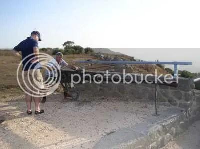 Geschütz auf dem Golan