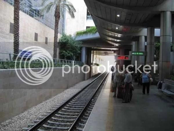 Bahnhof des Ben-Gurion-Flughafen