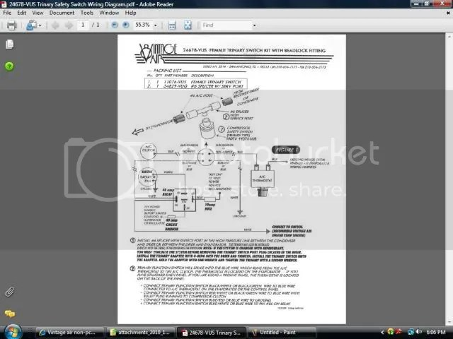 Vintage Air Binary Switch Wiring Free Download Wiring Diagram