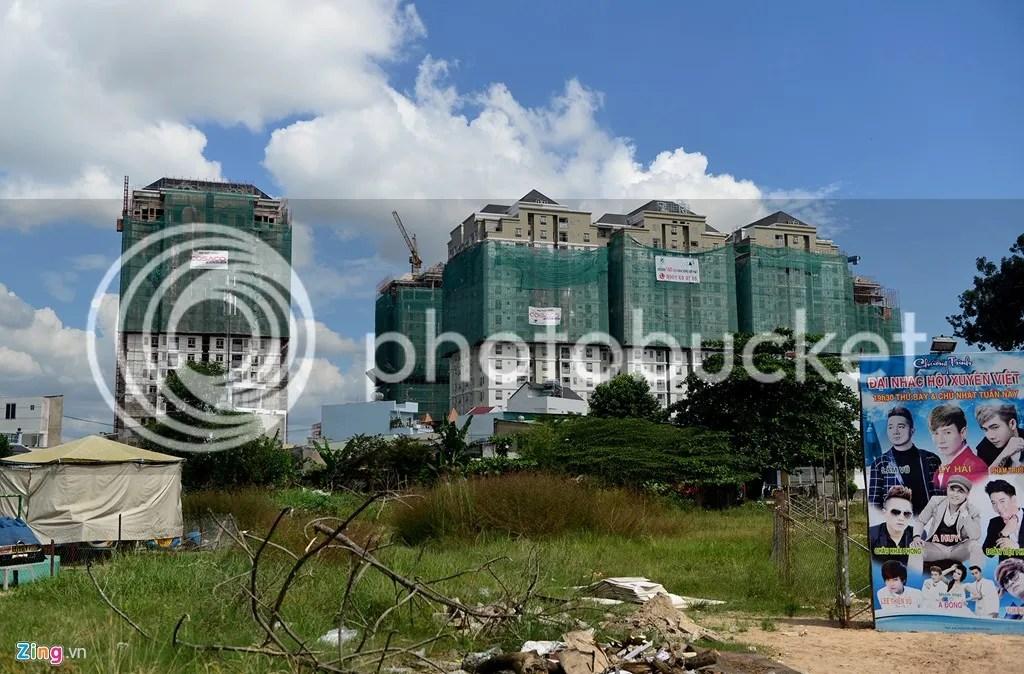 Các dự án BDS, toà nhà chọc trời thi nhau mọc khắp TPHCM