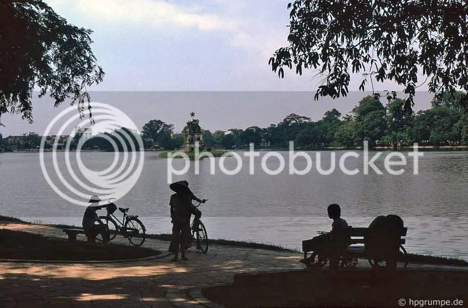 Hồ Hoàn Kiếm - tháp Rùa: Hà Nội