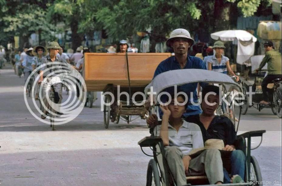 Hà Nội: Cyclo-vận chuyển