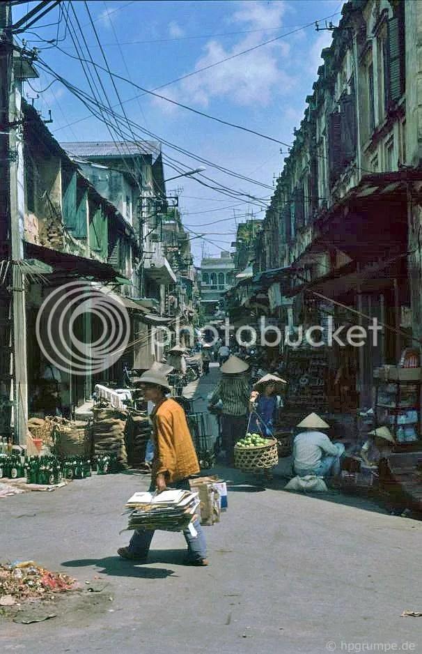thị trấn Hà Nội cũ: đường phố