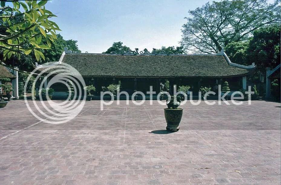 Hà Nội - Văn Miếu Chùa Bái Dương