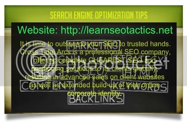 website search engine optimization test