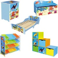 Kids Under The Sea Theme Furniture Set Girls Boys Ocean