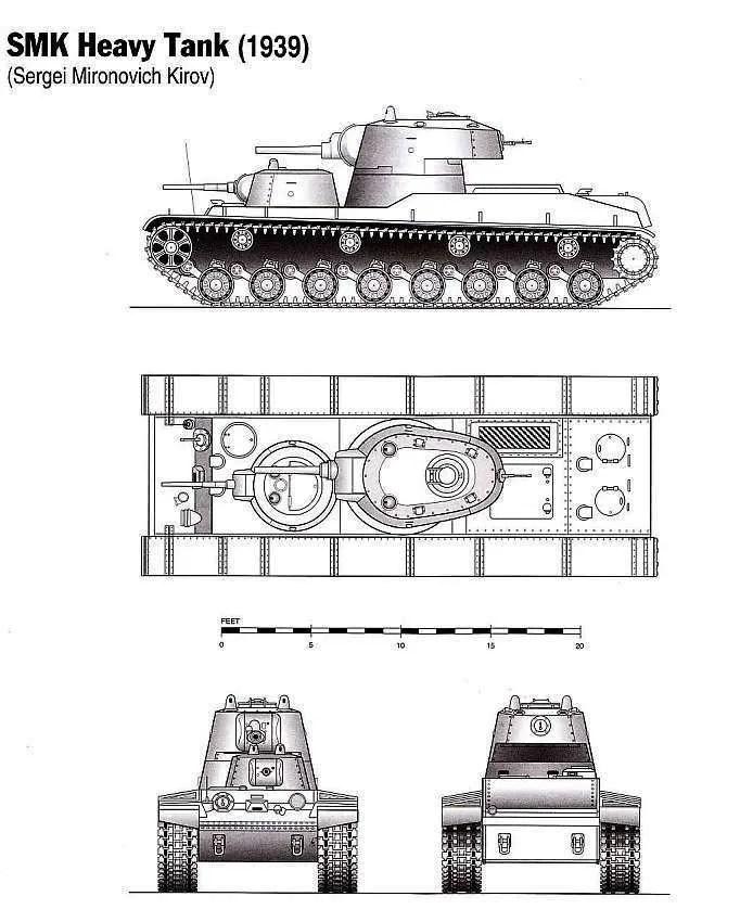 miniafv: Ostmodels 1/72 SMK Russian Heavy tank **review