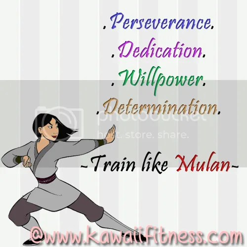 Mulan Fitness quote