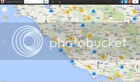 DOVE TROVARE UNA MAPPA DEGLI AUTOVELOX IN ITALIA