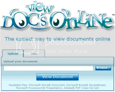 COME VISUALIZZARE FILE DOC XLS E PPT DIRETTAMENTE ON LINE