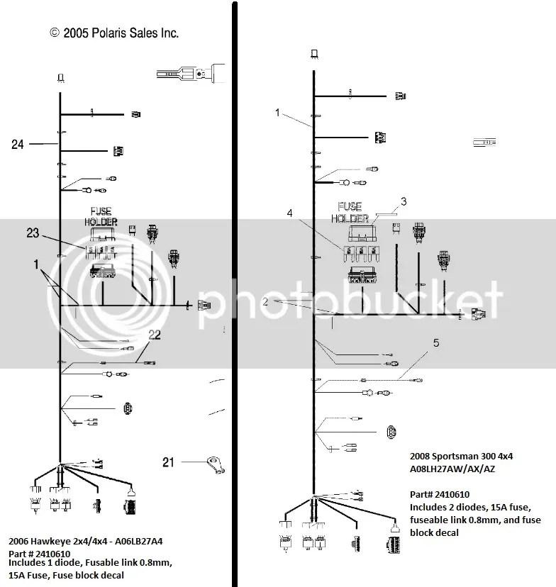 Polaris 500 Sportsman Wiring Diagram 2006
