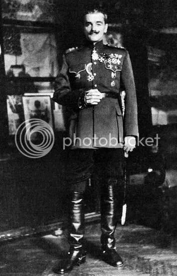 Генерал М.Ф. Скородумов, начальник Русского Бюро в Сербии