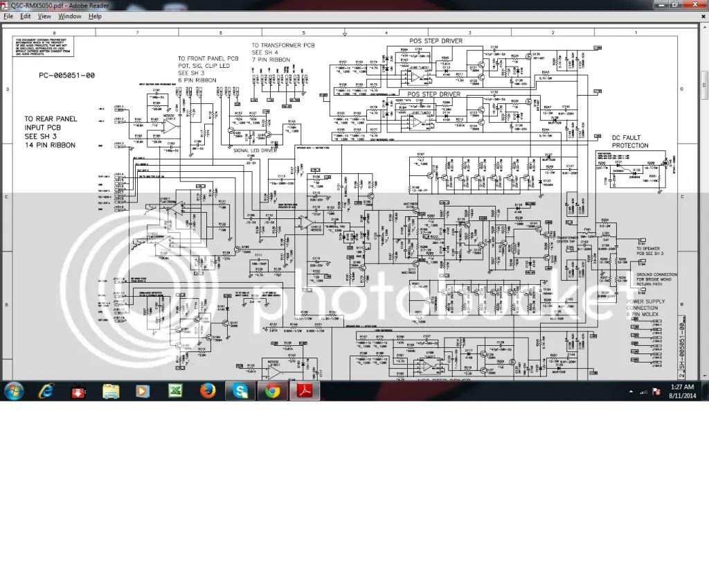 400 Watt Amplifier Evens C 500 Amplifier