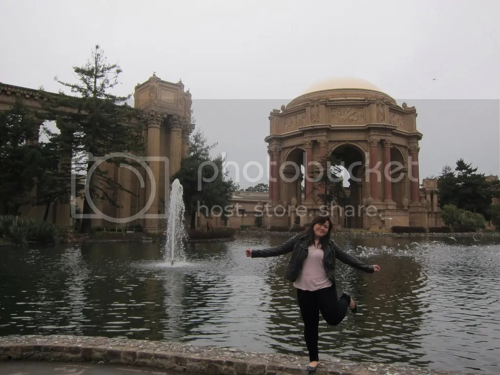Me at Palace of the Fine Arts