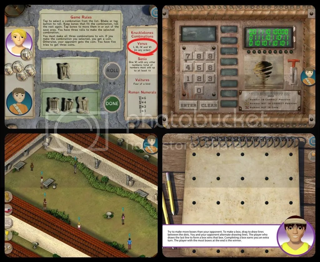 Unexpected Homeschool: Mayan Mysteries and Roman Town learning games from Dig It!