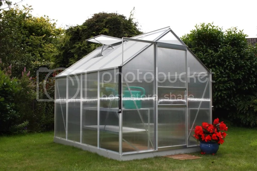 Grow Master 8x6 Greenhouse Silver