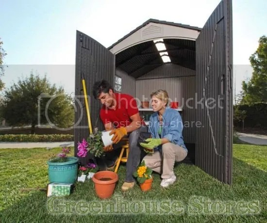Lifetime HDPE Plastic Shed