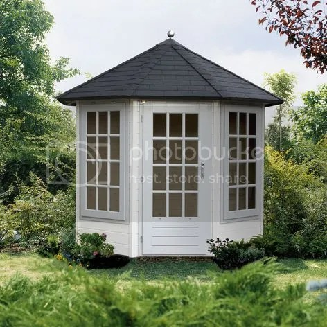 lugarde octagonal summerhouse