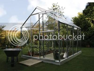 vitavia venus silver 8x6 greenhouse