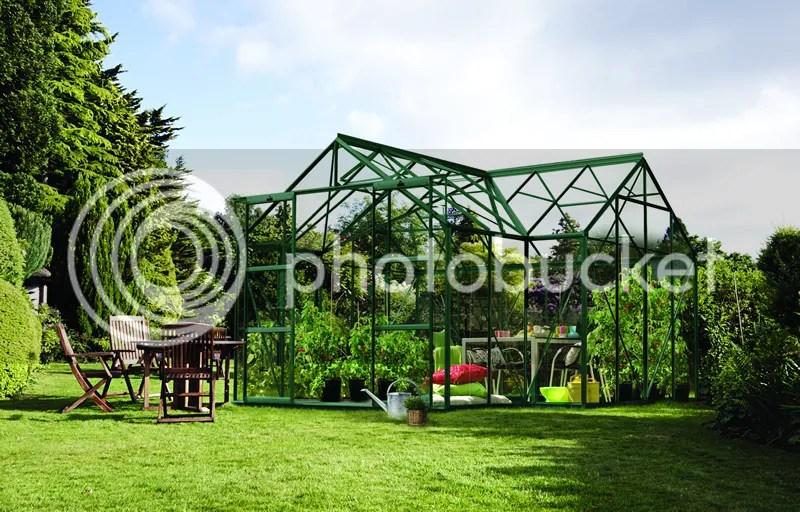 vitavia sirius orangery greenhouse green