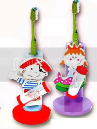 The gallery for --> Kids Toothbrush Holder