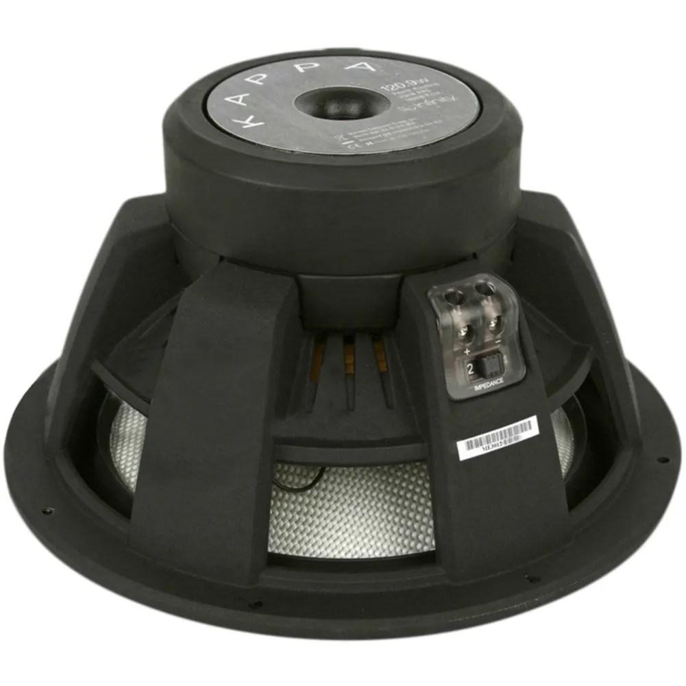 Subwoofer Infinity Kappa 120 9W 30 00 CM 12  1400 Watt