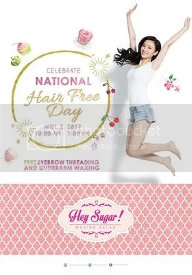Hey Sugar National Hair Free Day