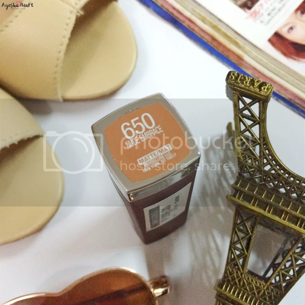Maybelline Color Sensational Nude Embrace 650