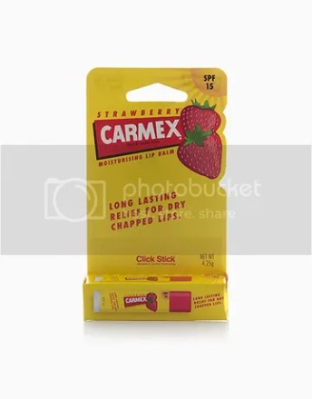 Carmex Strawberry Click Stick with SPF 15
