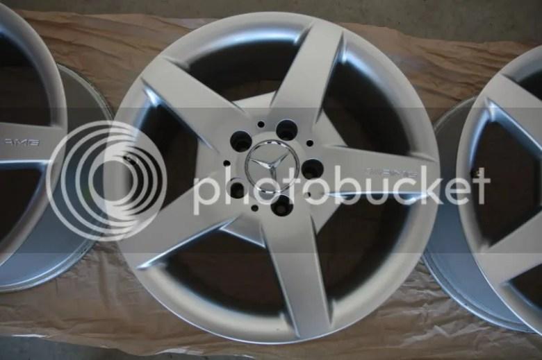 17'' AMG Wheels -staggered (SLK 350) - MBWorld.org Forums