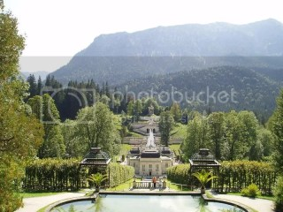 Linderhof, Ludwig II's only completed palace