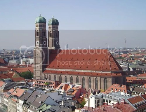 The Frauenkirche, today it's Munich's cathedral (but only recently)