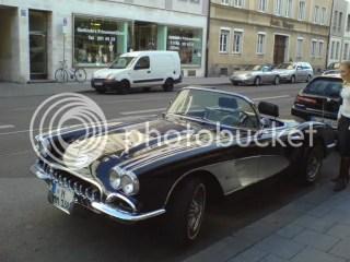 late 50's corvette?