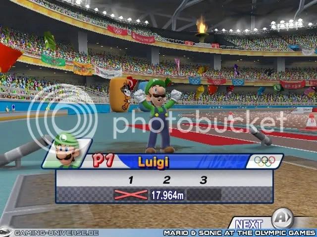 Mario and Sonic - Luigi