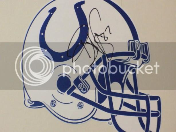 Reggie Wayne autograph