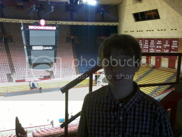 Inside Indiana University's Assembly Hall