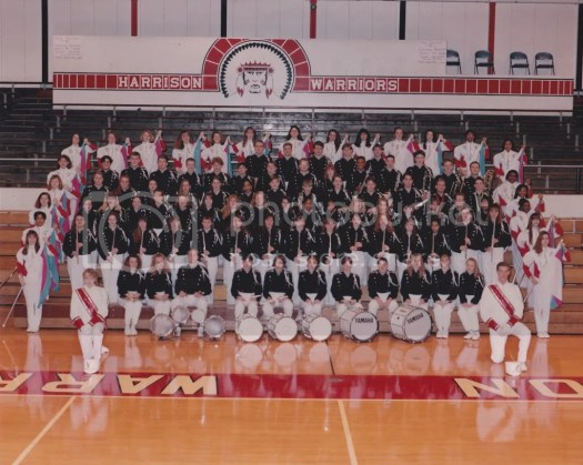 The 1993-1994 Evansville Harrison High School Marching Warriors