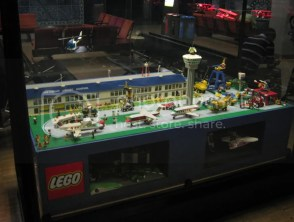 The airport in Amsterdam had a Lego mockup of their terminal. I think every airport should have a Lego display.