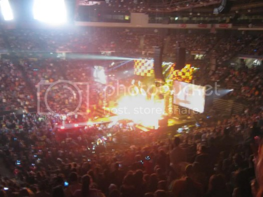 The band Red at Winter Jam 2013 in Cincinnati