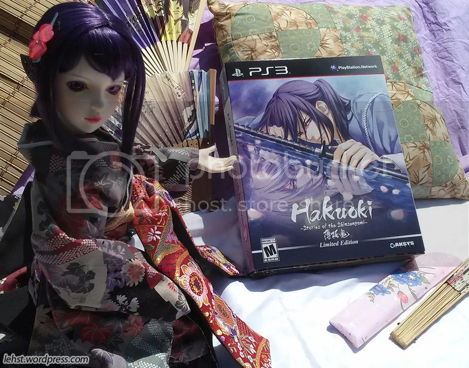 hakuoki hakuouki stories shinsengumi ps3 limited LE review