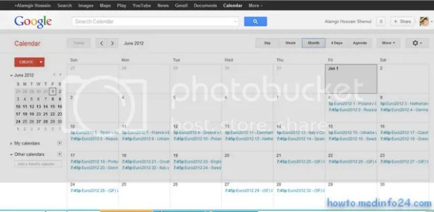 How to import Euro 2012 fixtures to an Android phone, tablet