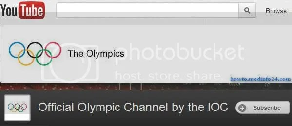 IOC to live stream London 2012 in 64 territories on its YouTube channel