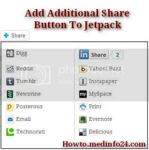 How To Add Specific Sharing Services to Sharedaddy or Jetpack