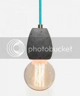 betonhängeleuchte betonhängelampe lampenfassung beton glühbirnenleuchte glühbirnenlampe industriestil deckenleuchte kugelform