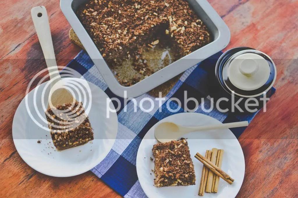 Spelt, Cinnamon & Almond Coffee Cake