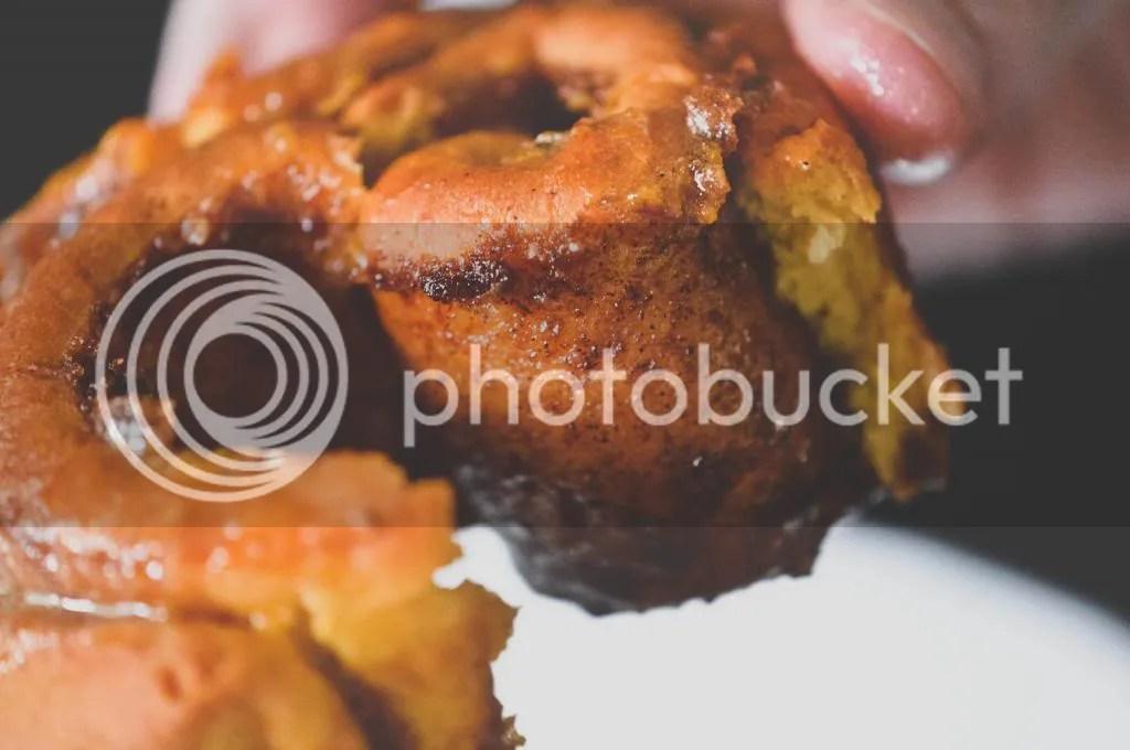 Pumpkin and Coconut Milk Cinnamon Buns